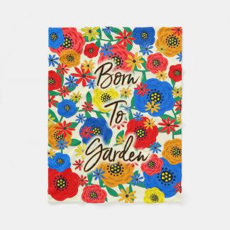 Cobertor De Velo Nascer ao jardim