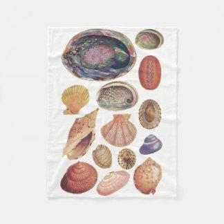 Cobertor De Velo Náutico, Seashells, praia
