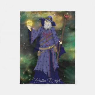 Cobertor De Velo Negócios loucos de Wiz, arte do feiticeiro do