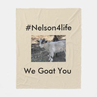 Cobertor De Velo Nelson para a vida