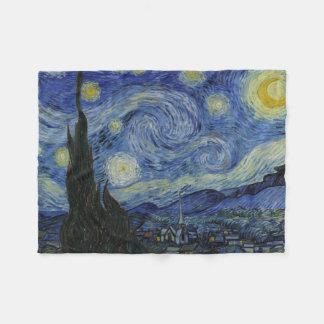 Cobertor De Velo Noite estrelado Vincent van Gogh