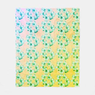 Cobertor De Velo Novo-Nupcial-Primavera--Bouquet-Med_Fleece_Blanket