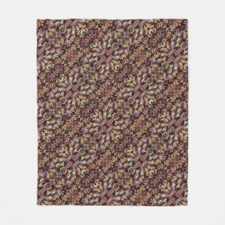 Cobertor De Velo Nozes do mel e nozes-pecã 0224