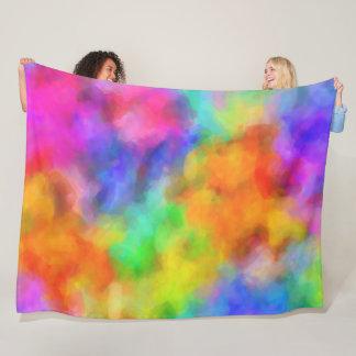 Cobertor De Velo Nuvens do arco-íris