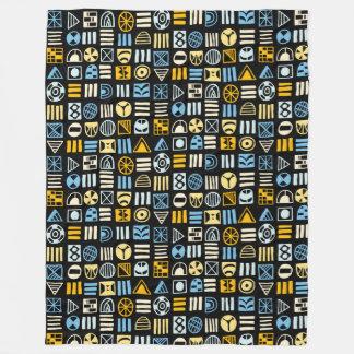 Cobertor De Velo O abstrato dá forma 060617 ao teste padrão - cores
