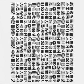 Cobertor De Velo O abstrato dá forma ao teste padrão 060617