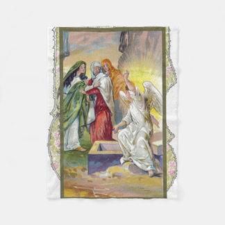 Cobertor De Velo O anjo diz às mulheres que o cristo aumentou
