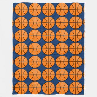 Cobertor De Velo O basquetebol do quarto da cama dos miúdos ostenta