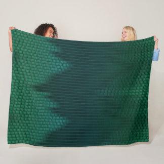 Cobertor De Velo O cetim do dragão verde escala o teste padrão