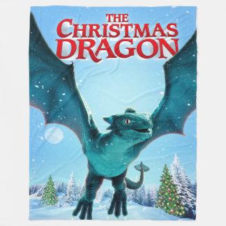 Cobertor De Velo O dragão do Natal - cobertura do velo