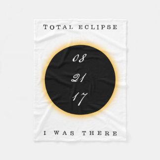 Cobertor De Velo O eclipse solar total 2017 eu estava lá