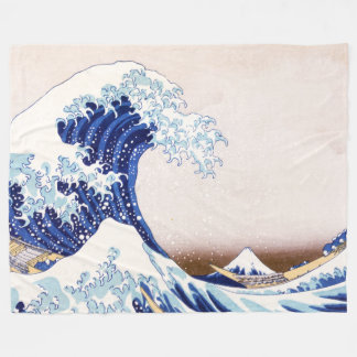 Cobertor De Velo O japonês acena a cobertura do velo