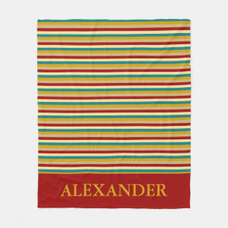 Cobertor De Velo O jogo de mesa do vintage inspirou listras