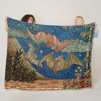 Cobertor De Velo O mosaico golpeia a cobertura do velo