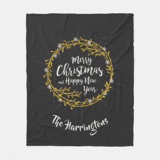 Cobertor De Velo O Natal deseja coberturas conhecidas feitas sob