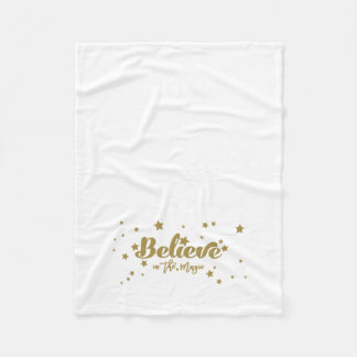 Cobertor De Velo O ouro acredita no feriado mágico