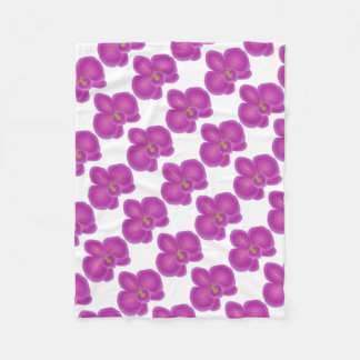 Cobertor De Velo O partido da orquídea personaliza destinos do