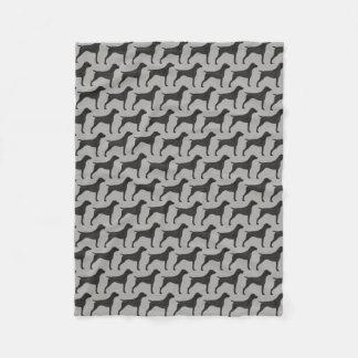 Cobertor De Velo O ponteiro de cabelos curtos alemão mostra em