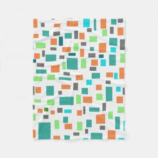 Cobertor De Velo O retângulo belamente projetado modela a cobertura