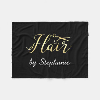 Cobertor De Velo O roteiro dourado Scissors o cabeleireiro do