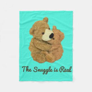 Cobertor De Velo O Snuggle é cobertura real do velo