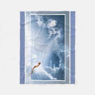 Cobertor De Velo O som do Shofar - cobertura do velo