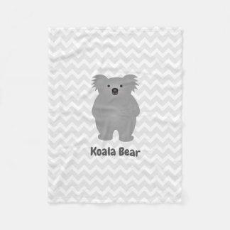 Cobertor De Velo O urso de Koala bonito do bebê de Austrália