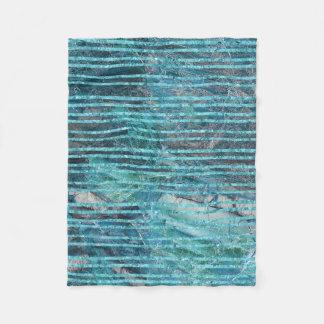 Cobertor De Velo O velo cobre o mármore verde com as linhas de
