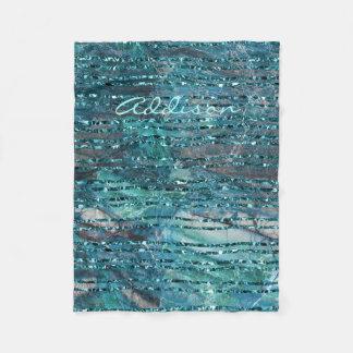 Cobertor De Velo O velo cobre o mármore verde com as Linhas Verdes