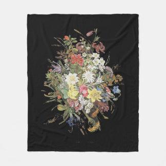 Cobertor De Velo O Wildflower alpino floresce a cobertura do velo