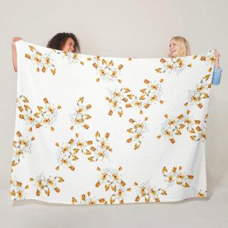 Cobertor De Velo O Wildflower da papoila de Califórnia floresce a