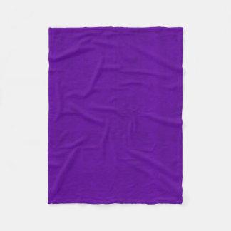 Cobertor De Velo Olhar brilhante de veludo da cor de néon roxa