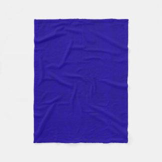 Cobertor De Velo Olhar de néon de veludo da cor dos azuis marinhos