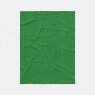 Cobertor De Velo Olhar de veludo da cor verde do casino