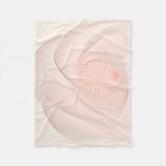 Cobertor De Velo Olho do rosa do rosa