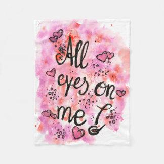 Cobertor De Velo On todo eyes me Fleecedecke