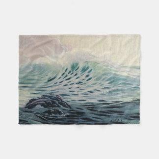 Cobertor De Velo Ondas de oceano delicadas