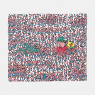 Cobertor De Velo Onde está a terra de Waldo | de Waldos