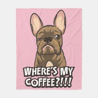 Cobertor De Velo Onde está minha cobertura do algodão do café