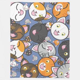 Cobertor De Velo Oodles da cobertura do velo do gatinho
