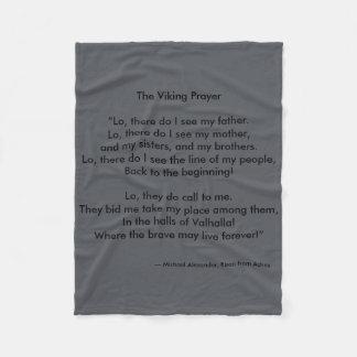 Cobertor De Velo Oração de Viking por Michael Alexander