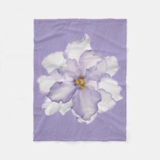 Cobertor De Velo Orquídea bonita da lavanda