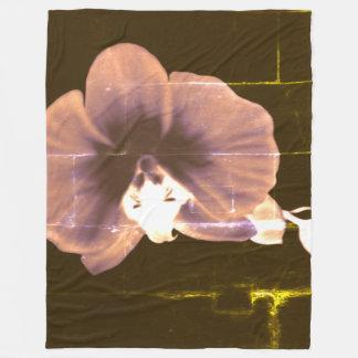 Cobertor De Velo Orquídea noturno