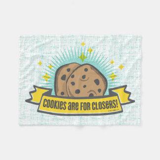 Cobertor De Velo Os biscoitos do bebê | do chefe são para Closers!