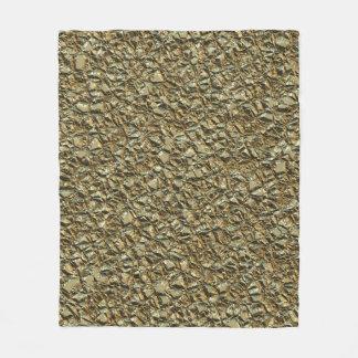 Cobertor De Velo ouro de pedra irregular