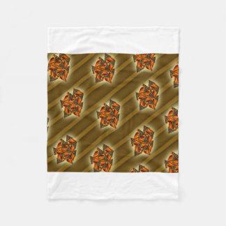 Cobertor De Velo padrões da chita com linhas de sombra cobertura do