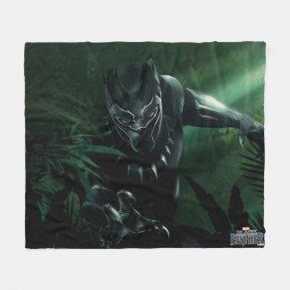 Cobertor De Velo Pantera preta | na selva