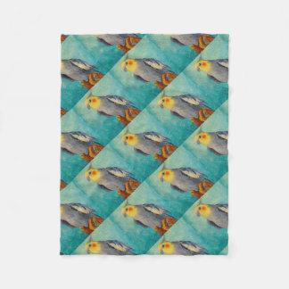Cobertor De Velo Papagaio de Corella