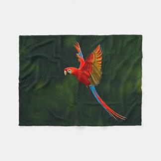 Cobertor De Velo Papagaio em vôo