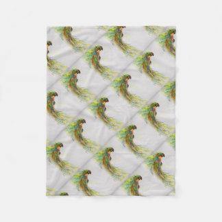 Cobertor De Velo Papagaio Swooping